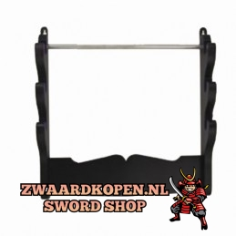 Wall stand for 2 samurai...